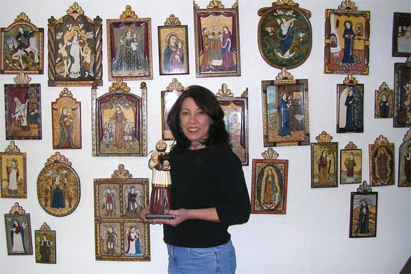 Catherine with Retablos